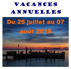 Vacances 2016